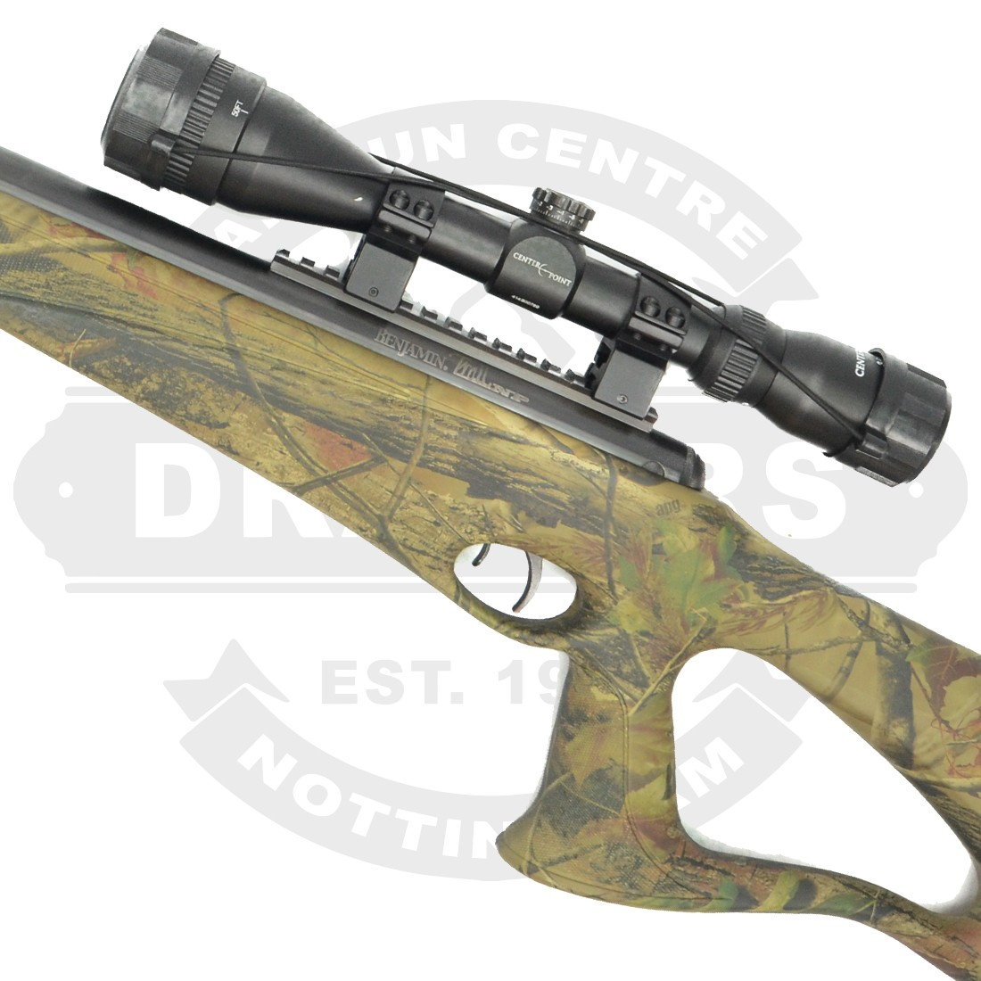 Benjamin Trail Nitro Piston Camo APG Stock  22 - Air Rifles