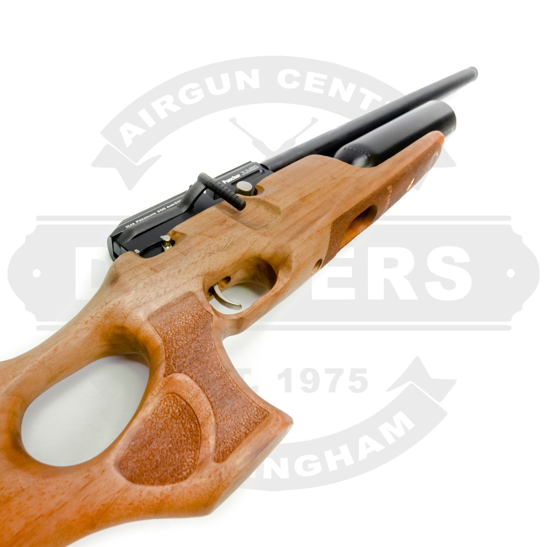 Kral Puncher Jumbo Mk2 T Walnut  25 - Air Rifles New - New Air Guns