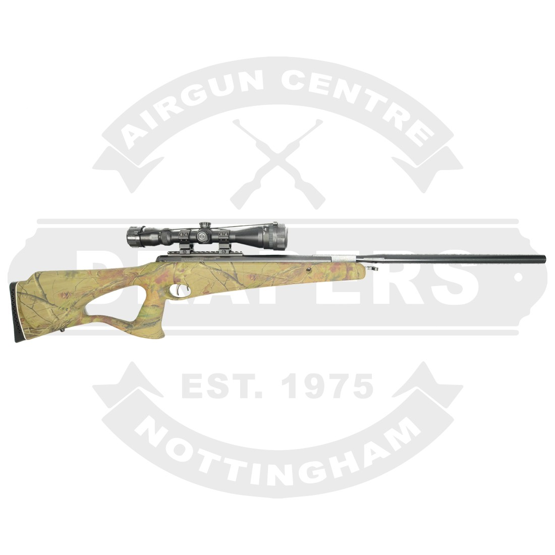 Benjamin Trail NP2 Camo Stock  22 - Air Rifles New - New Air