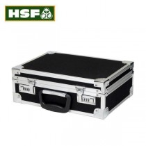 HSF Black Pistol Case with Aluminium Edging