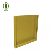 Bisley Yellow Flat Target Holder 17cm x 17cm