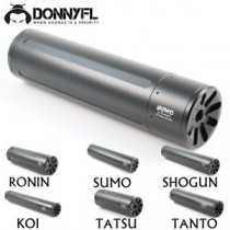 Donny FL Ronin .25 Silencer 1/2x20UNF (fits .22)