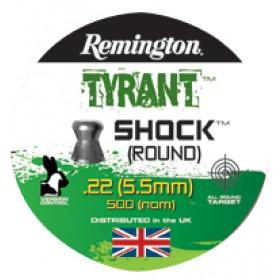Remington Tyrant Shock Dome Pellets .177 (x500)