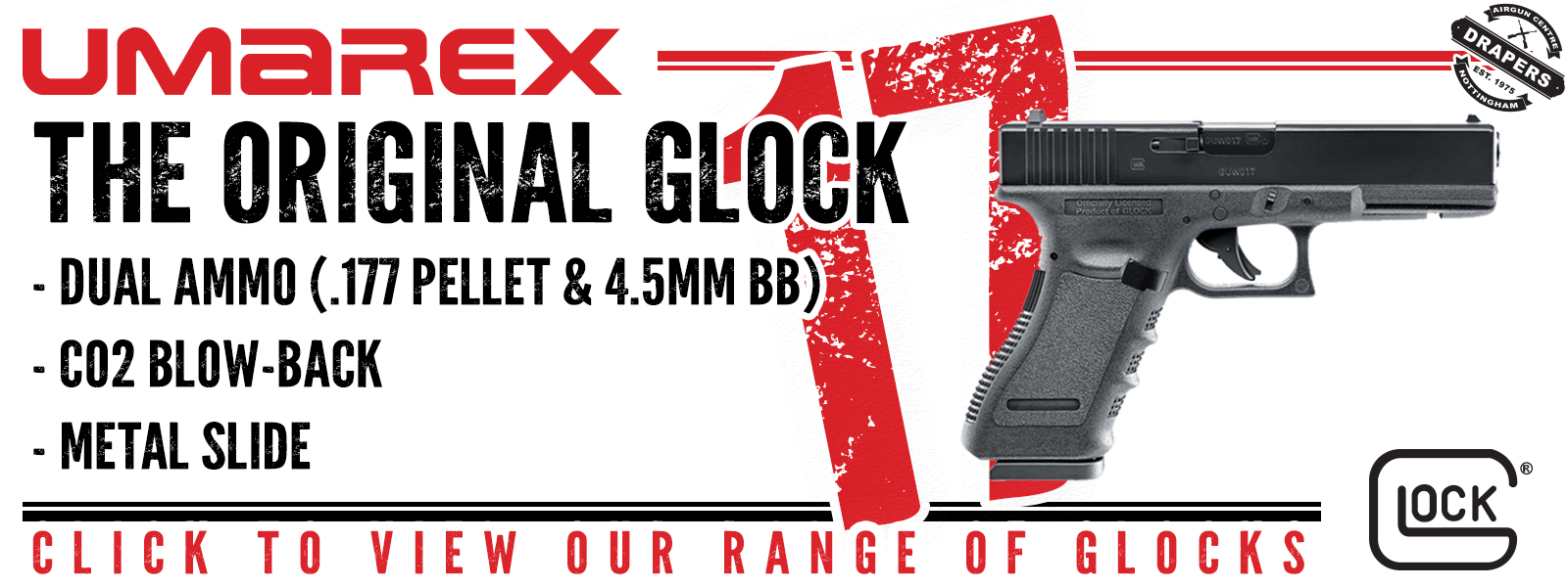 the umarex glock 17 in stock now
